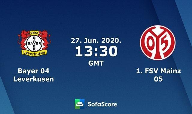 Soi kèo nhà cái Bayer Leverkusen vs Mainz 05, 27/6/2020 – VĐQG Đức